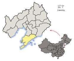 遼寧省中の大連市の位置.png